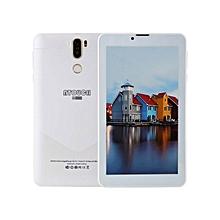 """A7+ 4G LTE Tablet - 7"""" - 1GB RAM - 16GB - Dual SIM - White"""