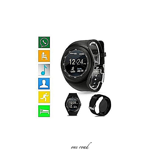 Ios Version Android Version Bluetooth Smart Watch Mobile Phone Screen Sim  Card
