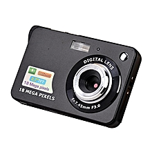 2.7 Inch TFT LCD Display 18MP 720P 8x Zoom HD Anti-Shake Digital Camera Black