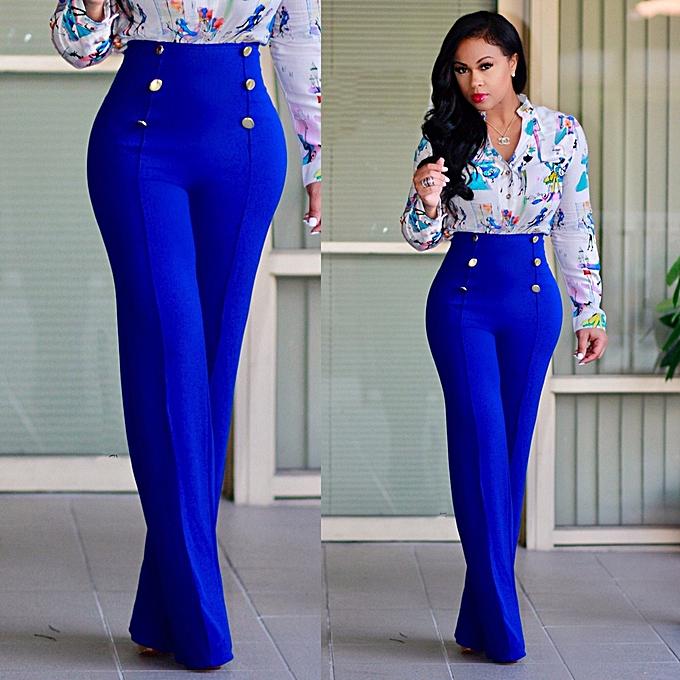 49ff5fb5c897 High Rise Piped Dress Pants Elegant Pants Women Work Wear High Waist Zipper  Fly Boot Cut