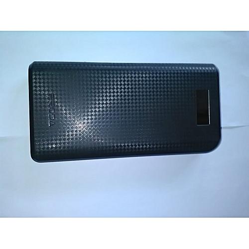 Power Bank 30000mAh - black + USB Data Cable - black