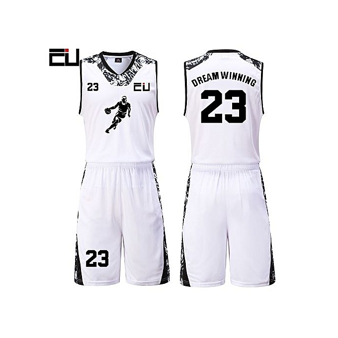 c3220311c High Quality Men s Customized Team Basketball Sport Jersey Uniform-White(JY- 1622)