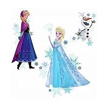 Frozen Elsa, Anna & Olaf decals