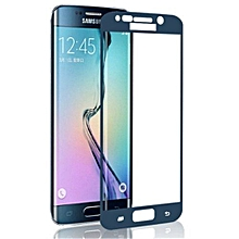 2.5D Anti-shatter Tempered Glass Protector Film For Samsung Galaxy G9250 S6 Edge G925 (Blue)