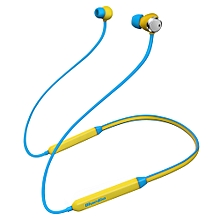 Noise Cancelling Earphone Magnetic Earbuds HiFi Bluetooth Dual Microphone  - Yellow