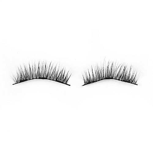 3ccb0ff0b67 Generic 1Set Triple Magnetic False Eyelashes Makeup Handmade Full Coverage  Magnet Eye Lashes Thick Long Fake Eyelashes Extension Make Up(Style 028)