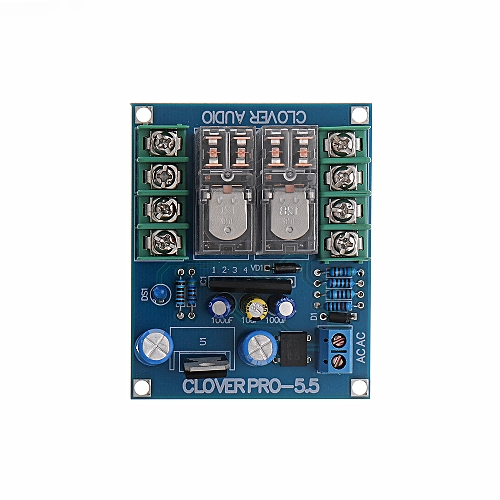 UPC1237 Speaker Protection Board Dual Omron Relay For HIFI Amplifier DIY  Speaker Kit
