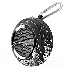 Bluetooth Speaker Element Splash IP67 Waterproof Portable with TWS for iOS Android Smartphones - Black