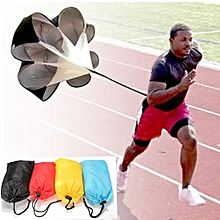 CAMTOA Speed Resistance Training Parachute Training Running Parachute Speed Chute 56 Black