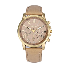 Geneva  Africashop  Women's Watch  Women Watch- Beige