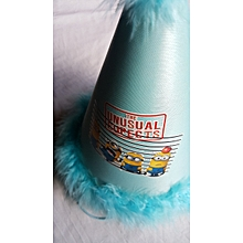 Blue Feathered Party Hat - Minions and Friends