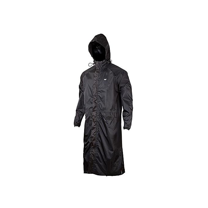 Kings Collection Black Waterproof Hooded Rain Coat   Best Price ... 67d2e88e0f2c