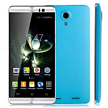 """8GB un-locked 5"""" Smartphone 3G GSM Android 5.1 QuadCore 2SIM For Cell Phone GPS -blue"""
