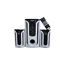 SD-307BT - Bluetooth Subwoofer - subwofer 40Hz-150Hz - White and Black