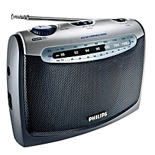 AE2160/00 -  Portable Radio  - Black and Soft Grey