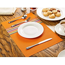 Non-Slip Heat Resistant Placemats/Coasters. Table Mat PVC Placemat - Set of 6