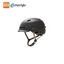Smart4u SH50 Smart City Commuter Bling Helmet Men Women Safety Racing Helmet Hat Back LED Light Motorcycle Adult Motocross Off Road Half-Helmet Capacetes