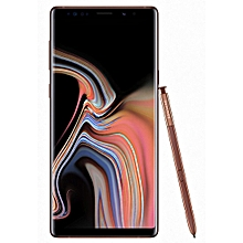 Galaxy Note9 6.4-Inch (6GB RAM, 128GB ROM) Android 8.1 Nougat, (12MP + 12MP) Dual SIM LTE Smartphone - Metallic Copper