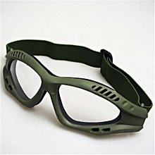 PUBG Multifunction CS Tactical Safety Goggles Windproof Outdoor Cycling-army green