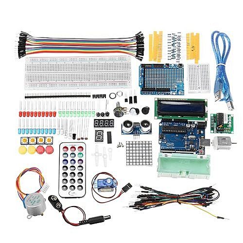 Basic Experimental Kit With UNO R3 DC Motor LCD1602 Display For Arduino  With Plastic Box Package