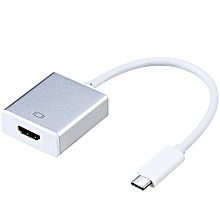 USB TYPE C to HDMI 4K @60Hz, CableCreation Type C (Compatible Thunderbolt 3) to HDMI Adapter, Compatible MacBook Pro//iMac 2017/Chromebook Pixel/Yoga 910/Samsung S8/S8+