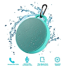 Bluetooth Speaker, Waterproof Wireless Outdoor/Indoor Speaker With 3W Output Power,2 Hours Continuous Play, Built-in Mic Portable Speaker (Green) By BDZ