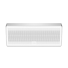 Square Box BT4.0+EDR Speaker 2.4GHZ-2.48HZ Mini Portable Stereo Wireless Connection Handsfree - Silver