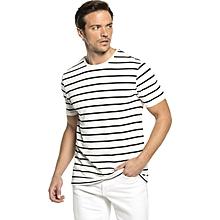 White Fashionable Skinny T-Shirt