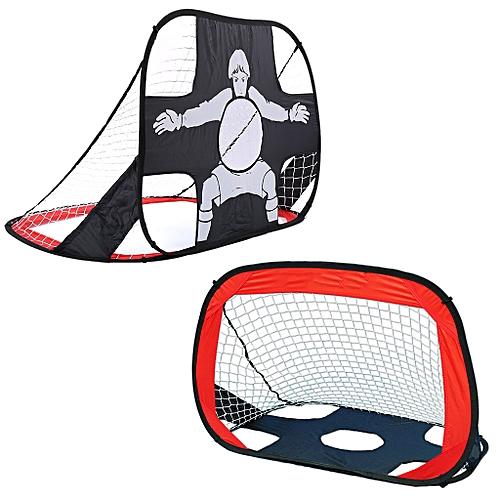 8a6a60847 Generic Football Goal Set Durable Target Shot Net Pop Up Foldable Portable  Soccer Goal - Red