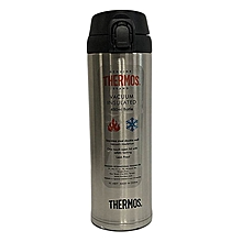 Stainless Steel 450ml Vacuum Bottle - SBK - With Safety Lock