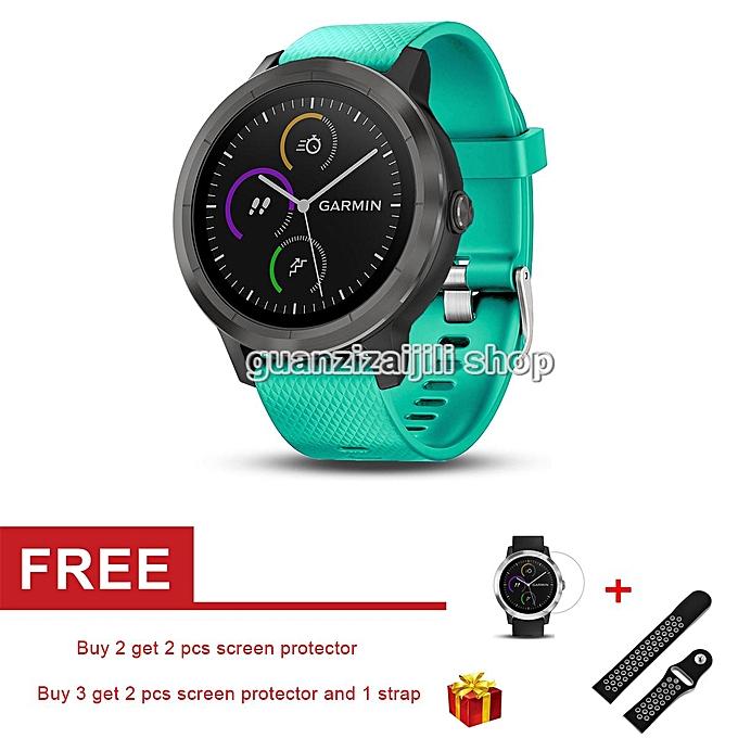Soft Silicone Strap Replacement Watch Band for Garmin VivoActive 3 / VivoMove / VivoMove HR Smart