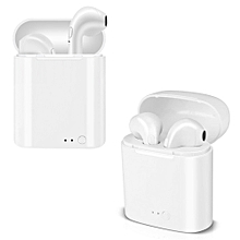 Wireless Earphone BT Earbud Anti-noise Stereo Headset with Portable Charging Box