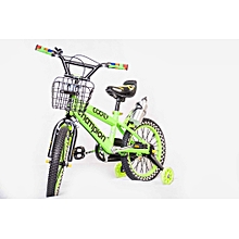 "16"" Bicycle Kids Bike 4-8Years - Lime Green"