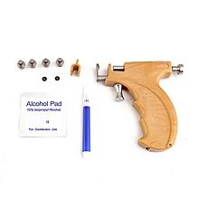 Professional Stainless Steel Ear Gun Safe Piercing Earrings Painless Tool yellow