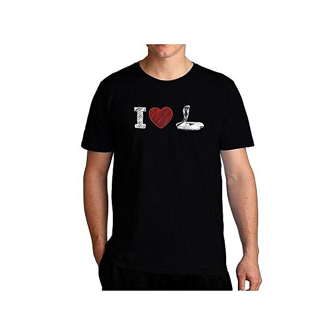 5c54357d8ea1 Fashion I Love Snake Cool Men T-Shirt @ Best Price Online   Jumia Kenya