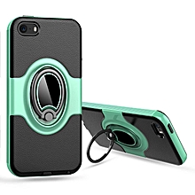 360 Degree Rotating Ring Kickstand Case Shockproof Impact Protection Can work with Magnetic Car Mount Case Cover for Apple iPhone 5/5S/SE  XYX-S