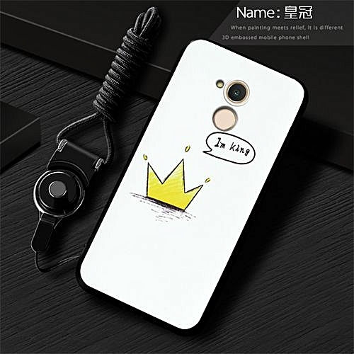 Luxury Painted Cell Phone Case For Huawei Honor 6C Pro Honor V9 Play  JMM-AL00 5 2