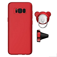 Samsung Galaxy S8 Magnetic Cover, Ring & Car Air Vent Holder