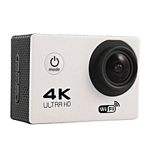 Soocoo F60 Sport Action Camera 4K WiFi Allwinner V3 Chipset OV4689 16.0MP HD Image Sensor For Outdoor Activities White