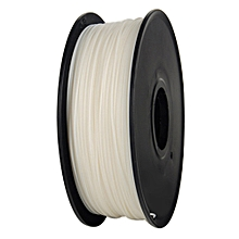 340m 1.75mm PLA 3D Printing Filament Biodegradable Material - White