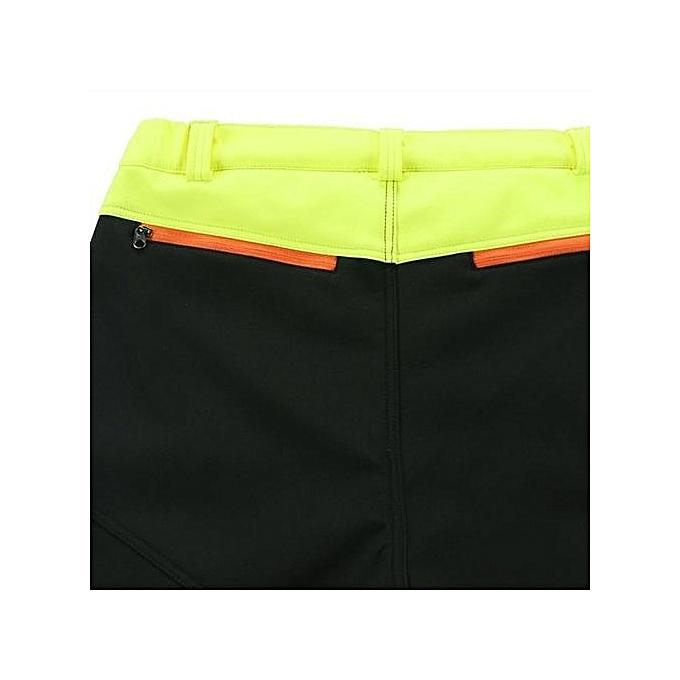 ... Mens Outdoor Sport Pants Elastic Soft Shell Warm Fleece Lined Vivid Color Waterproof Trouser Green ...