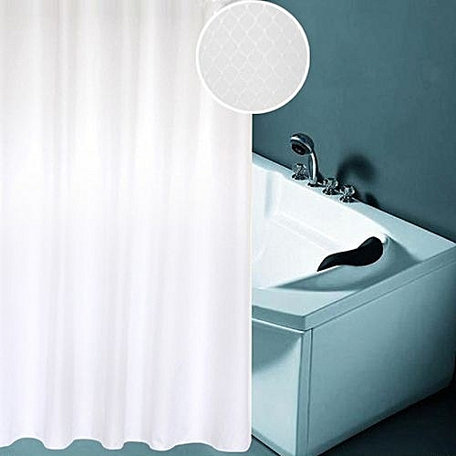 Thickening Waterproof And Mildew Curtain Honeycomb Texture Polyester Cloth Shower Bathroom Curtainssize