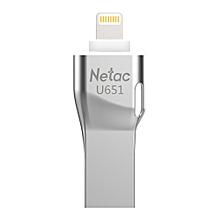 U651 64G USB3.0 Dual Interface For iPhone/iPad/PC High Speed Mini Flash Drive Memory Stick