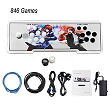 846 In 1 Home Multiplayer Arcade Game Console Kit Set Double Joystick Console-multi-color Mixed