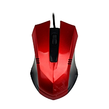 Design 1480 DPI USB Wi Optical Gaming Mice Mouse For PC Laptop -Red