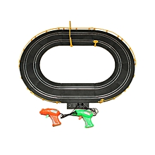 HZ Wire Control Electric Magnetic Racing Car Track Toy Double Competitive Toys-