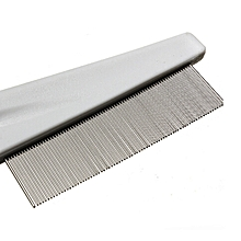 Pet Hair Grooming Comb Flea Shedding Brush Puppy Dog Stainless Comb-AS Shown