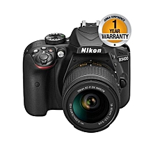D3500 DSLR Camera with 18-55mm Lens - 24.2MP - Black