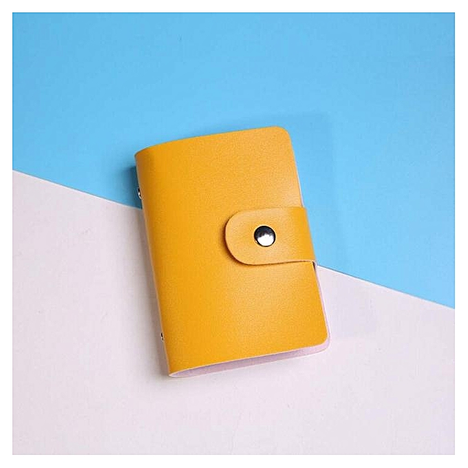 Buy eissely men women leather credit card holder case card holder men women leather credit card holder case card holder wallet business card ye reheart Images