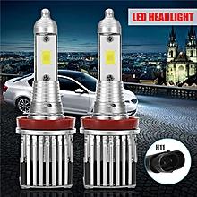 2X G20 H11 Super Bright LED Headlight Hi/Low Beam White 8000LM Auto Light Bulbs